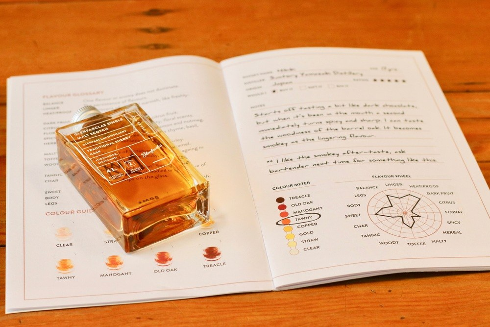 How to use our Whisky Loot journal