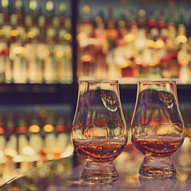 What's the difference between bourbon and whisky