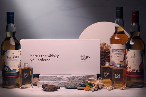 Whisky Loot's Diageo 2020 Special Releases Explorer's Edition Tasting Pack