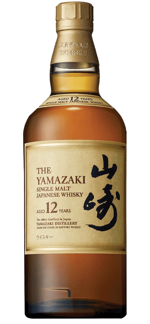 Suntory Yamazaki 12 Year Old Single Malt Japanese Whisky (700ml)