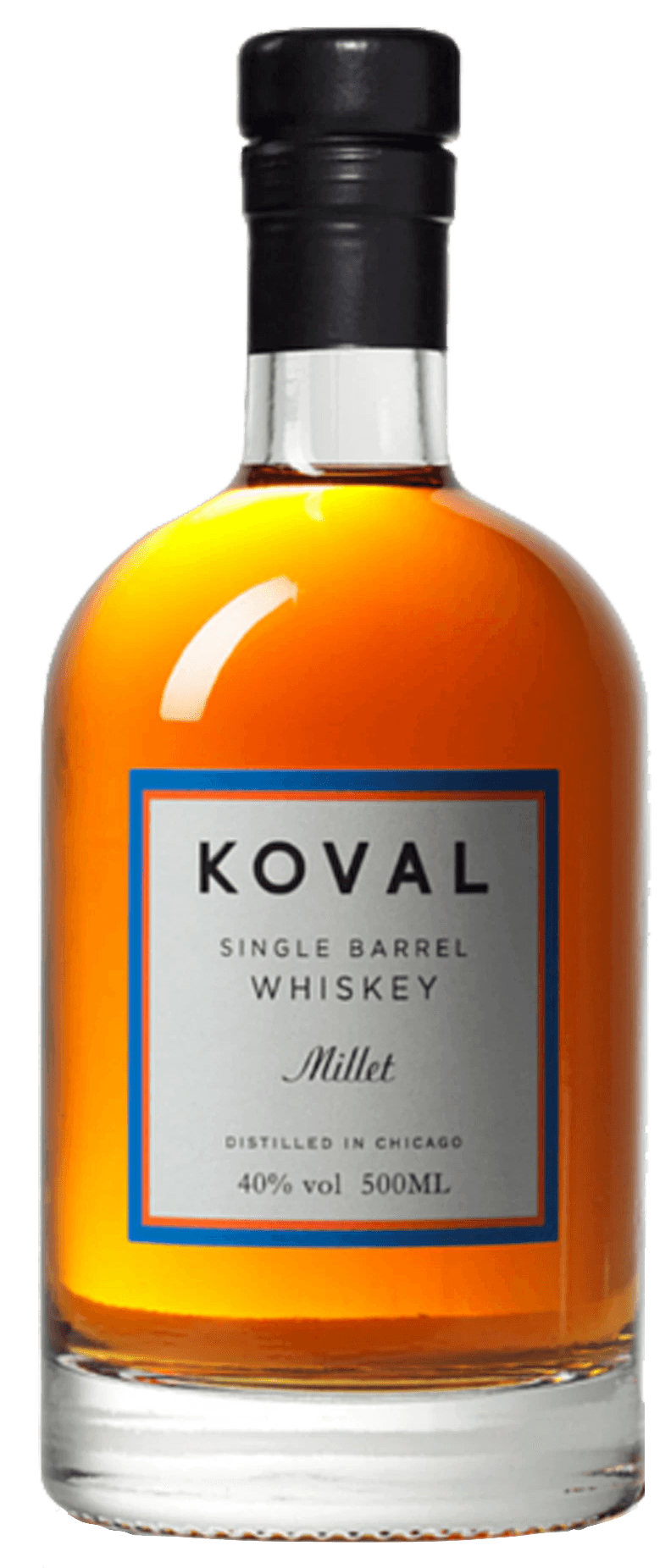 Koval Single Barrel Millet Whiskey (500ml)