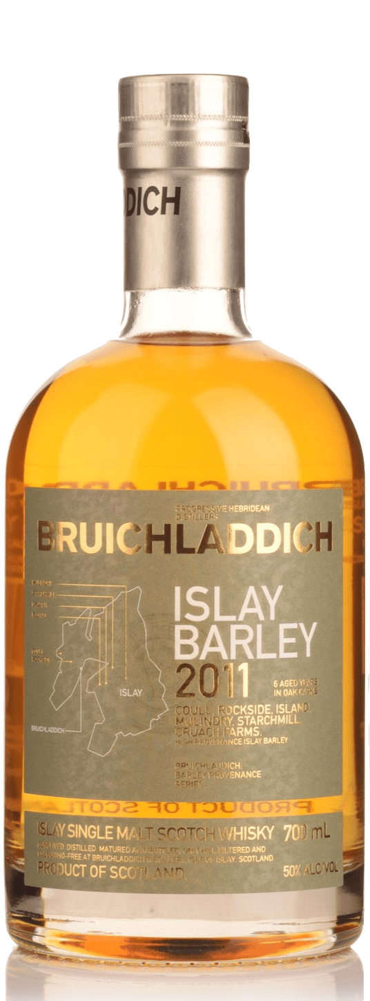 Bruichladdich 2011 Islay Barley Unpeated Single Malt Scotch Whisky (700ml)