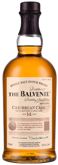 Balvenie Caribbean Cask 14 Year Old Single Malt Scotch Whisky (700ml)