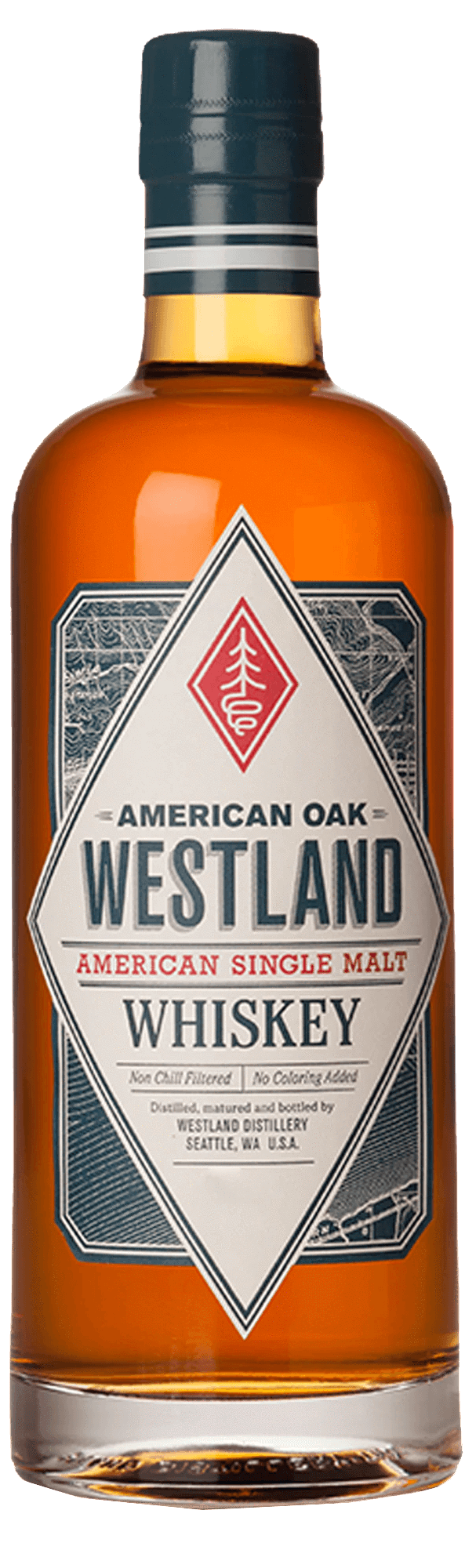 Westland American Oak Single Malt American Whiskey (700ml)