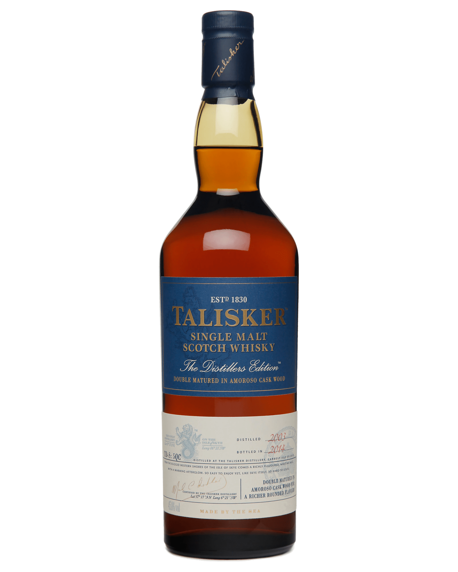 Talisker Distillers Edition Double Matured Single Malt Scotch Whisky (700ml)