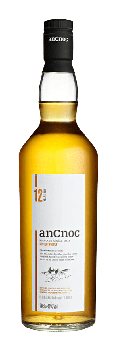 AnCnoc 12 Year Old Single Malt Scotch (700mL)