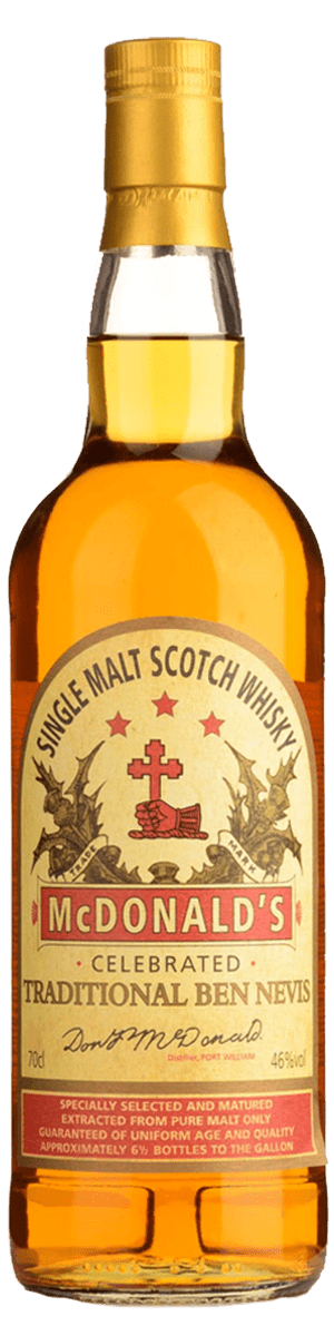 Ben Nevis McDonald's Traditional Single Malt Scotch Whisky (700ml)