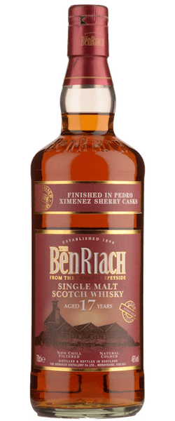 Benriach Pedro Ximenez Sherry Wood Finish 17 Year Old Single Malt Scotch Whisky (700ml)