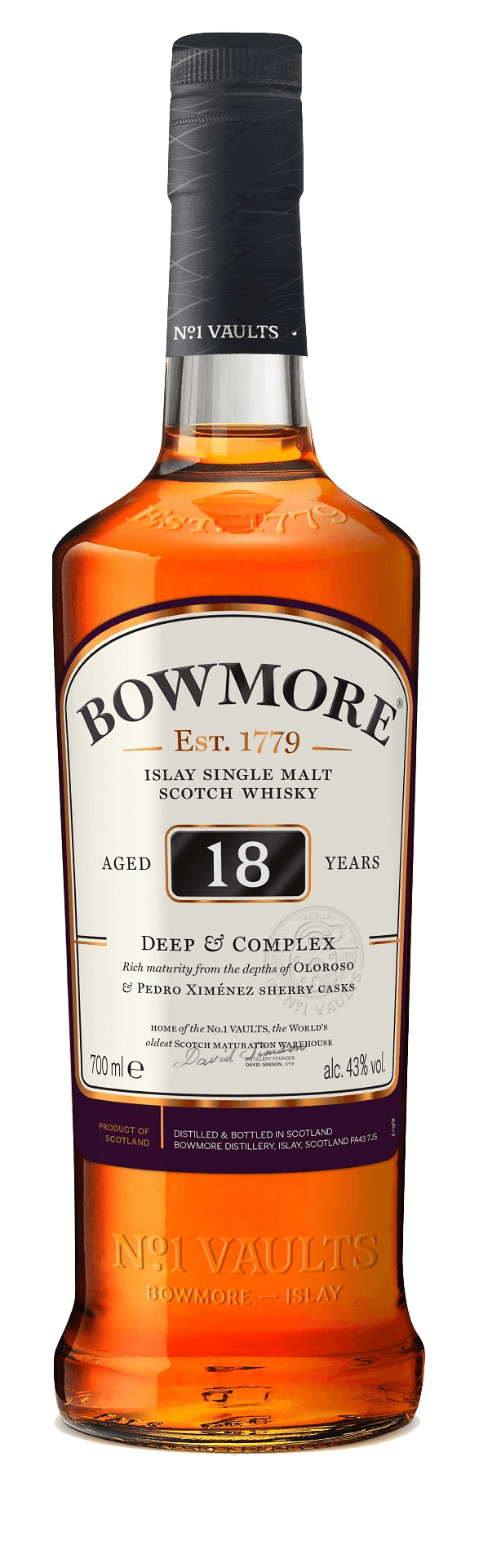 Bowmore 18 Year Old Deep&Complex (700mL)