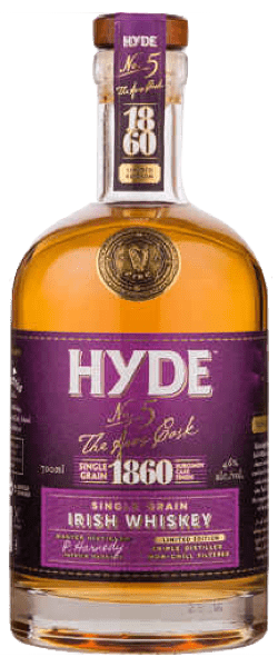 Hyde No.5 The Aras Cask 6 Year Old Burgundy Cask Finish (700ml)