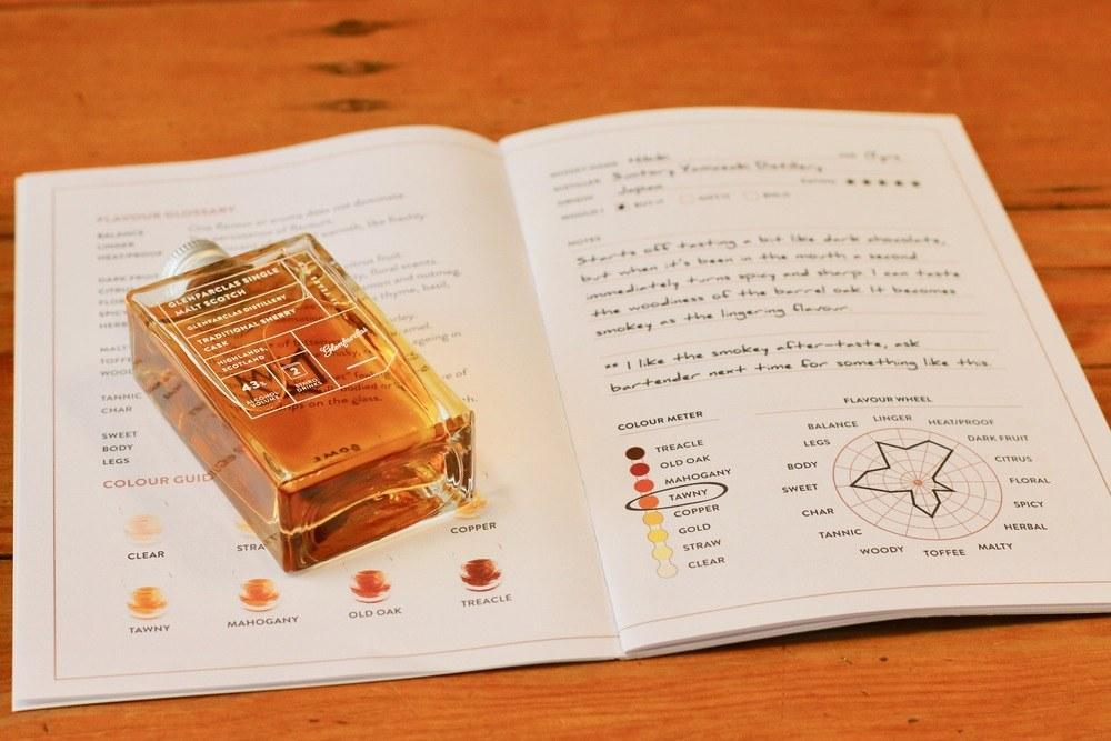 Whisky Loot Tasting Journal