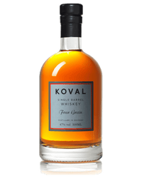 Koval Single Barrel Four Grain Whiskey (500ml)