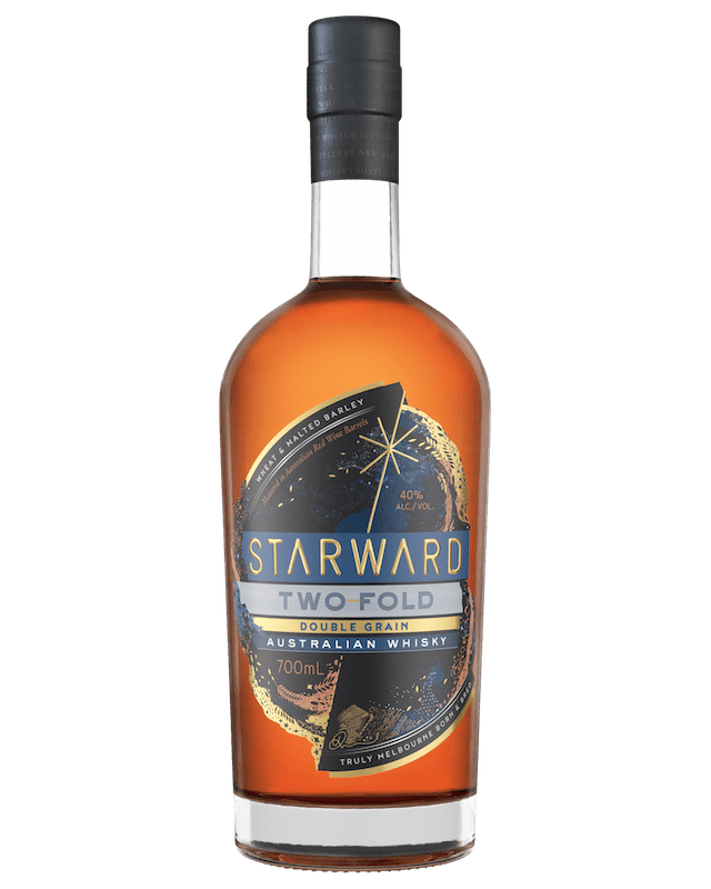 STARWARD Two-Fold Double Grain Blended Australian Whisky (700mL)
