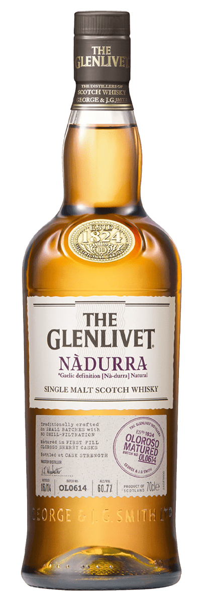 The Glenlivet Nàdurra Single Malt Scotch - Batch OL1117 (700mL)