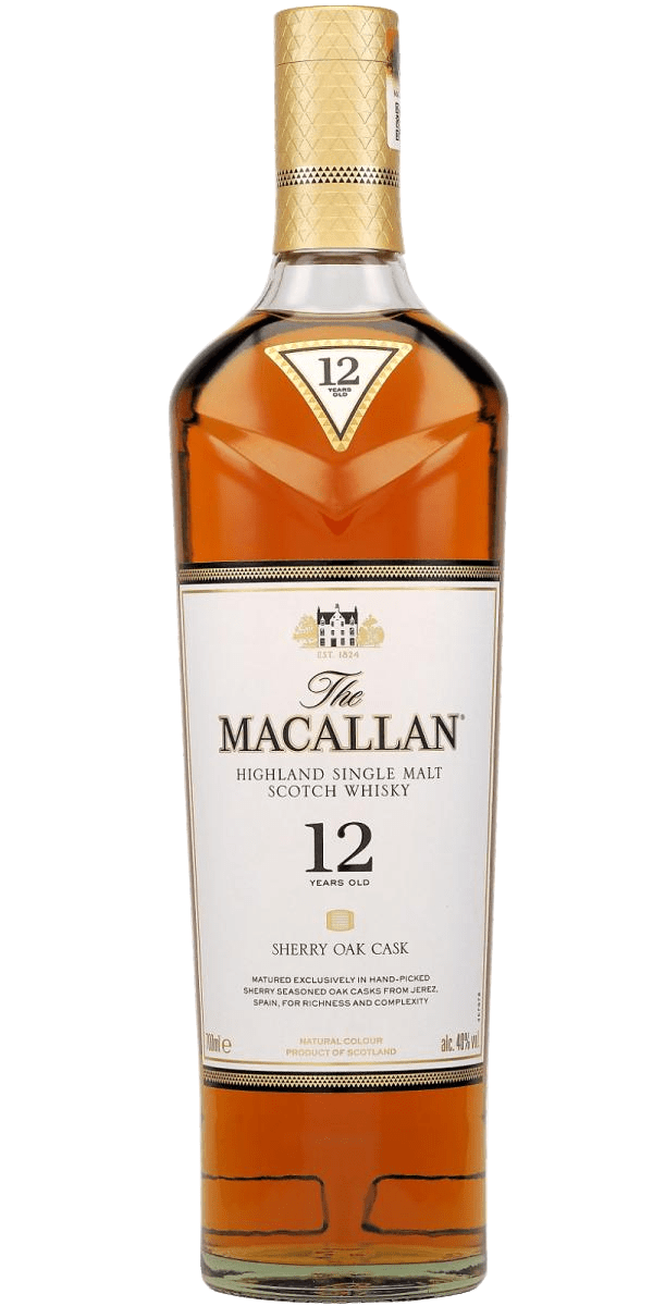 The Macallan 12 Year Old Sherry Cask Single Malt Scotch Whisky (700mL)