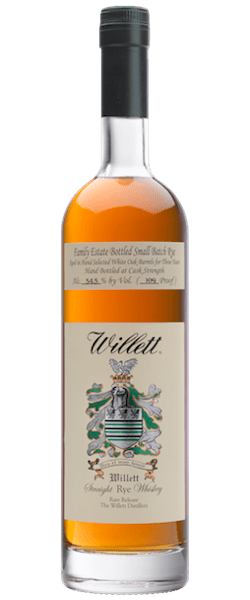 Willett Single Barrel Cask Strength Small Batch Rye Whiskey (750ml)