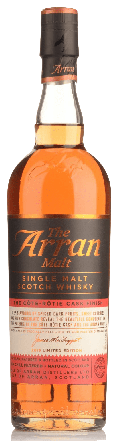 The Arran Cask Finishes Cote Rotie Cask Finish Single Malt Scotch Whisky (700ml)