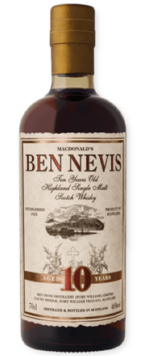 Ben Nevis 10 Year Old Single Malt Scotch Whisky (700ml)
