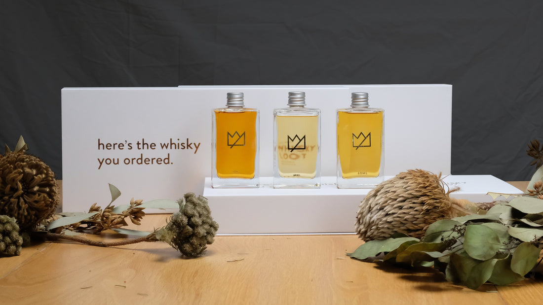 Support Australian Distilleries Whisky Tasting Pack