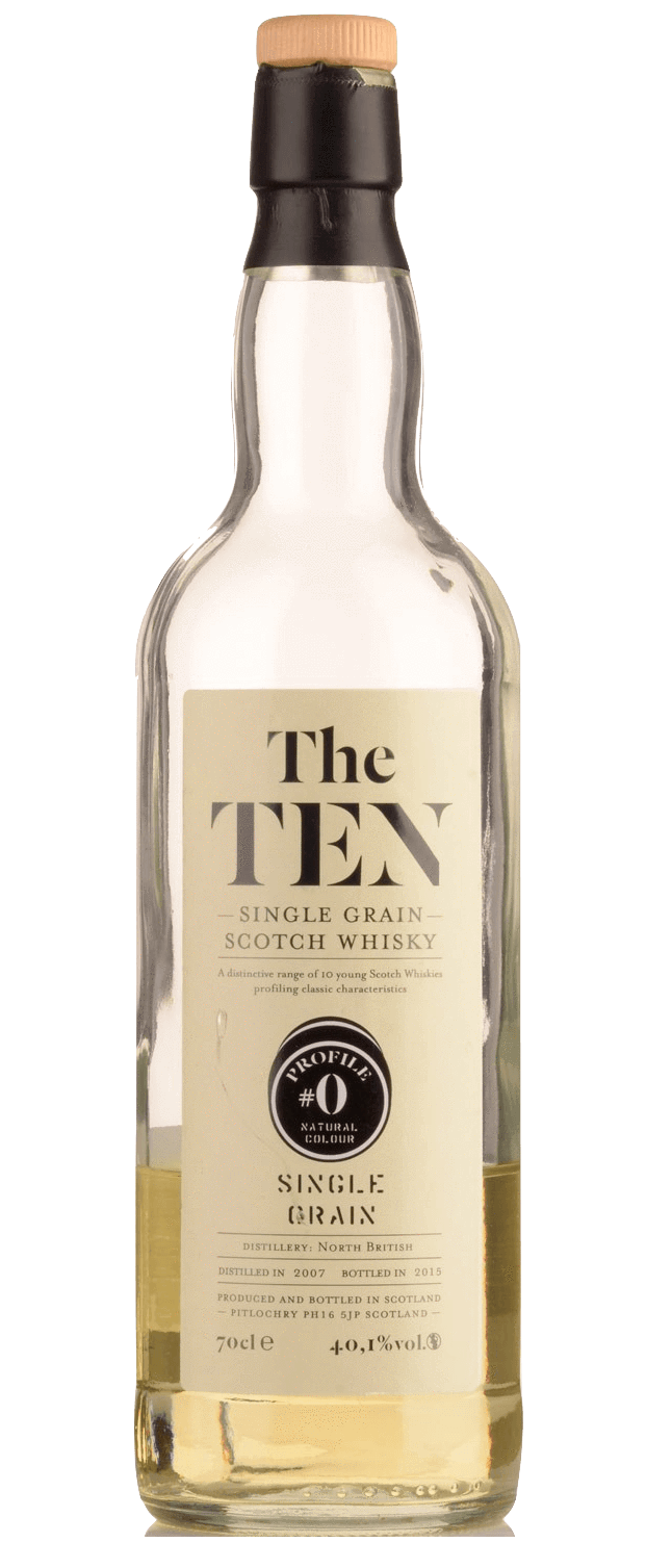 North British Single Grain Whisky bottled by La Maison Du Whisky #0 The Ten Series (700mL)