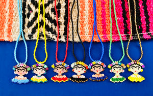 Frida Pendant Necklace Collection