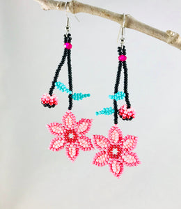 Promise of Spring Earrings, Pink