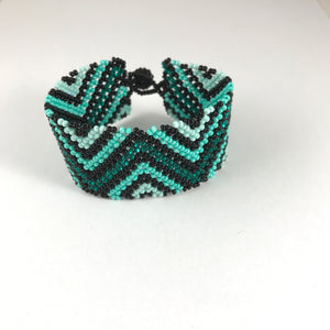 Dark Shiny Teal Bracelet Collection