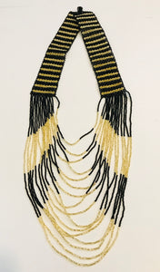 Woven Strands Necklace Collection