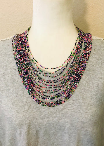 Just Right Necklace, Spring Multi
