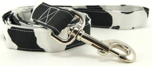 Cow Print Dog Leash