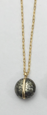 Pyrite Meridian Necklace