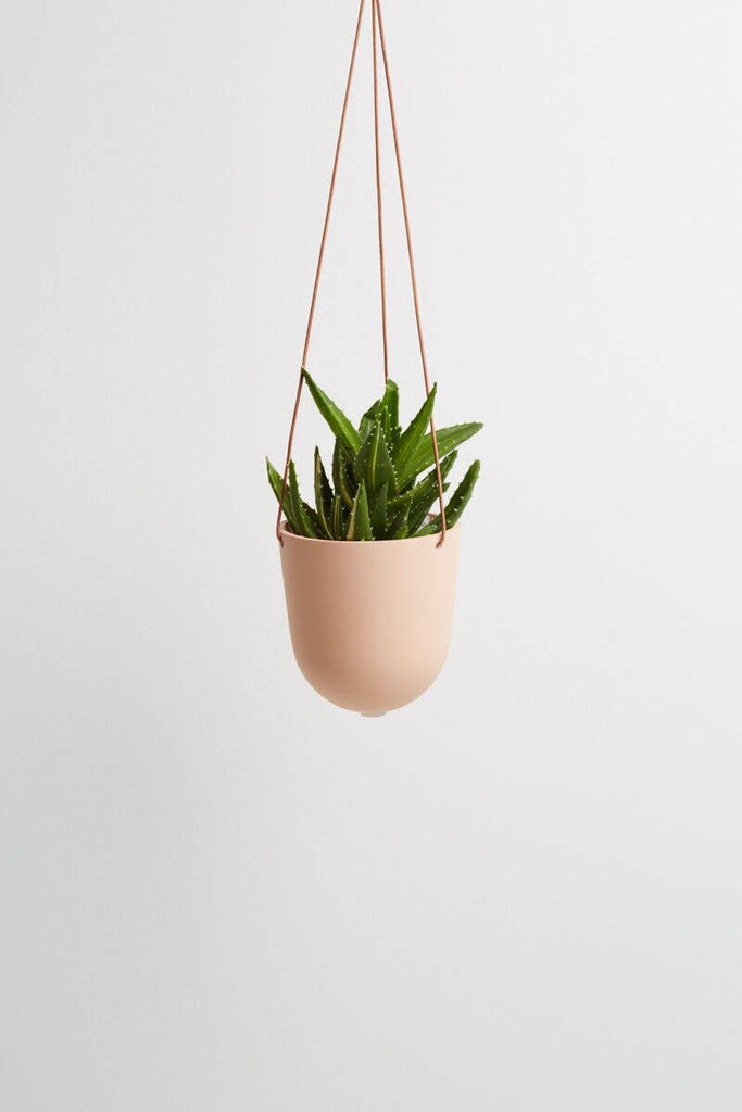 Block Color Hanging Planter