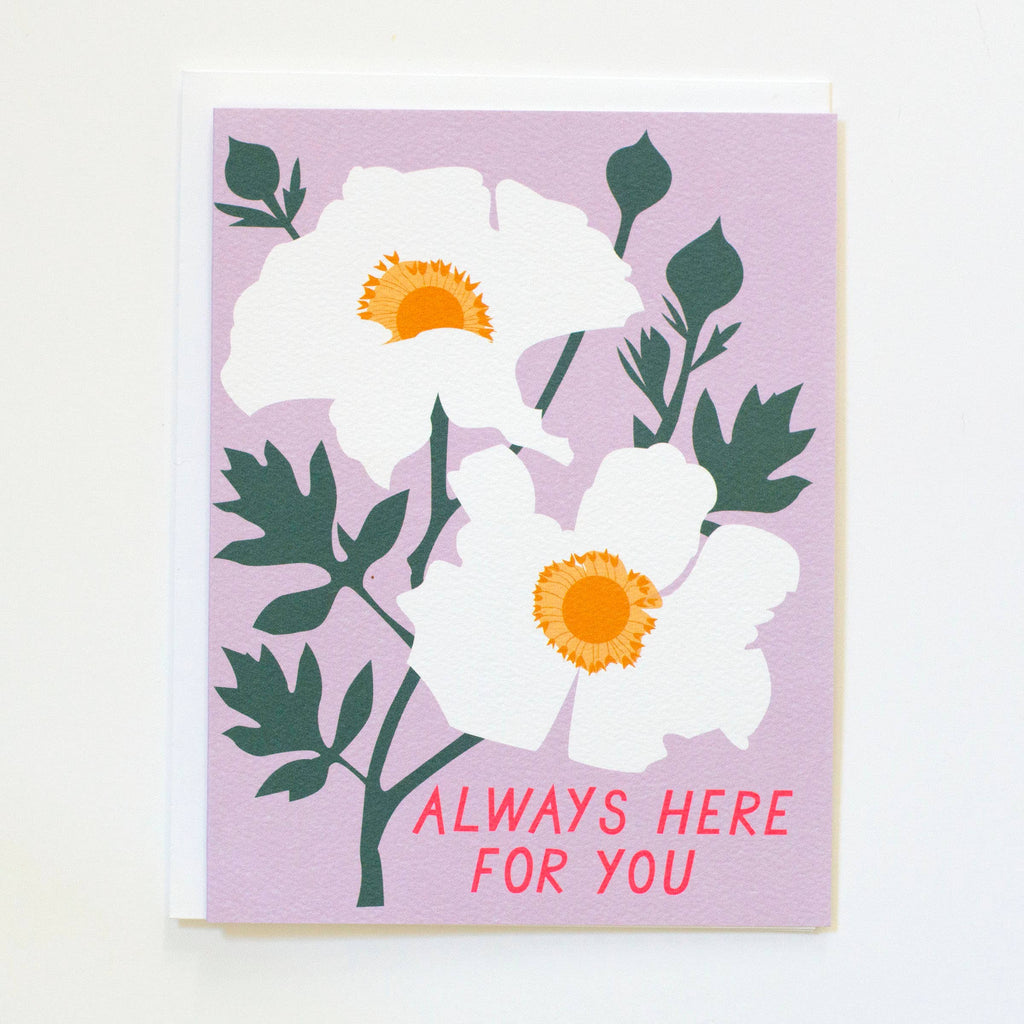 Always Here for You Note Card