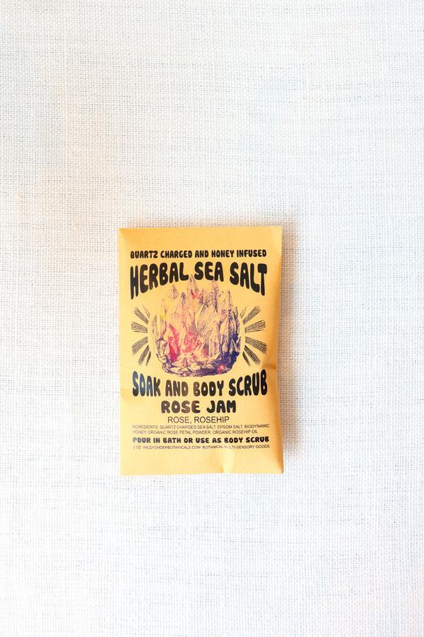 Crystal Charged Bath Salts