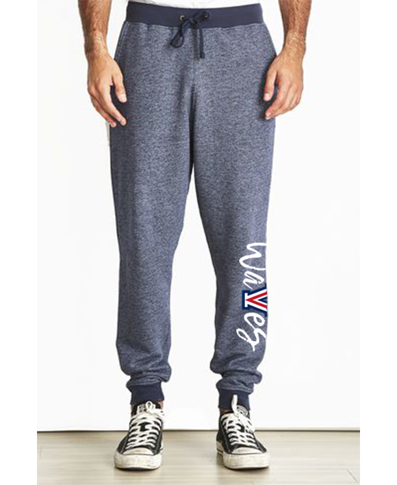 Mens & Ladies Cut Denim Fleece Joggers