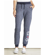 Load image into Gallery viewer, Mens & Ladies Cut Denim Fleece Joggers