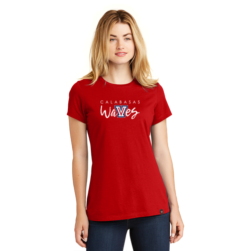 New Era® Ladies Heritage Blend Crew Tee