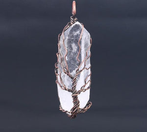 Balance my spirit | Tree of Life bergkristal