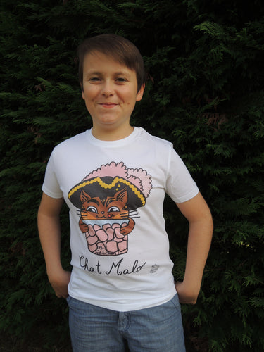 T-shirt « Chat Malo » - Taille Enfant