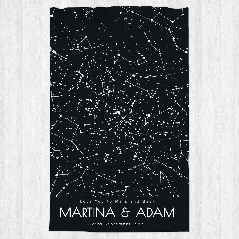 Star Map Blanket