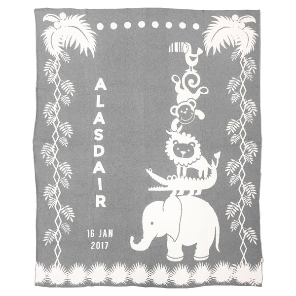 Safari March Blanket