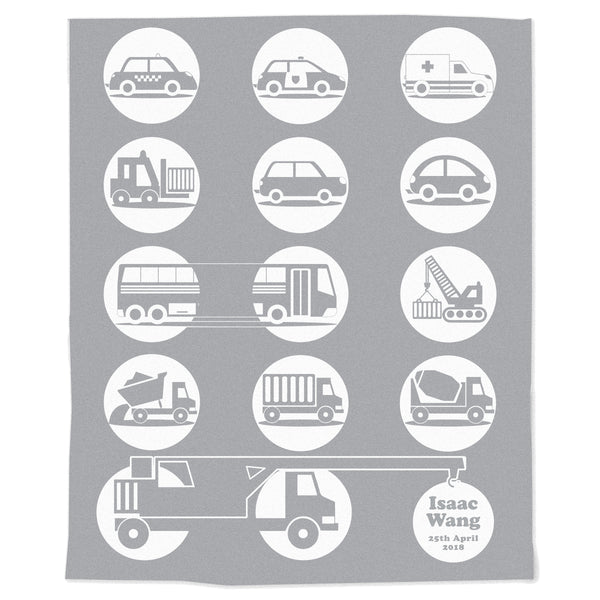Cars and Trucks Blanket
