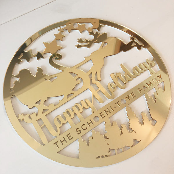 Winter Wonderland Plaque