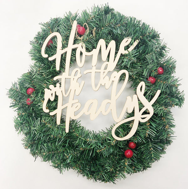 Christmas Family Wreath