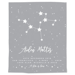 Constellation Announcement Blanket