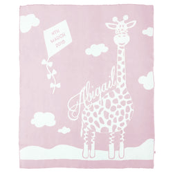 Giraffe Love Blanket