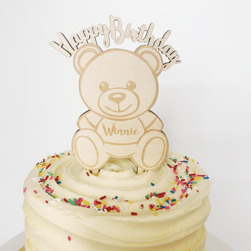 Teddy Bear Caketopper