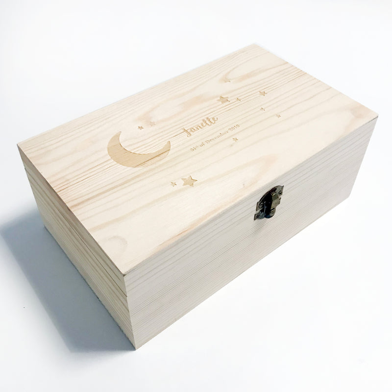 Moon & Star Keepsake Box