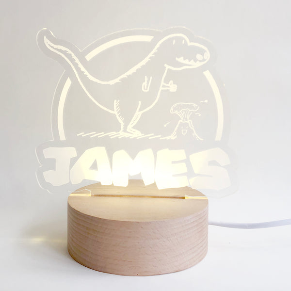 Dino+Lava Nightlight