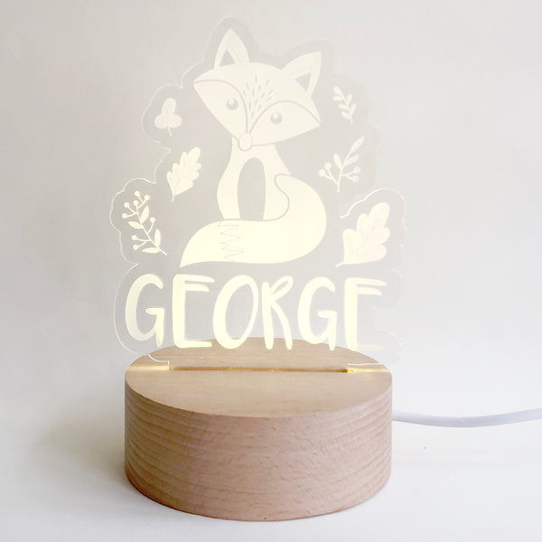 Little fox Nightlight